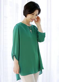 <font color=black><b>Classic blouses</b></font> <br> -BL40447-
