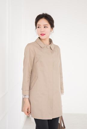 <b><font color=black>Modern color button coat</font></b> <br> -CO708001-