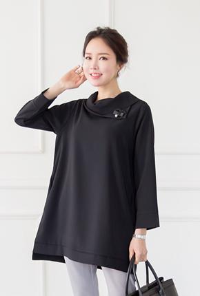 <b><font color=black>Tilden plain dress</font></b> <br> -OP708023-