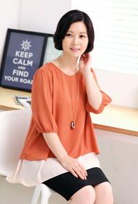<b><font color=black>Piano rap blouse</font></b> <br> -BL30814-