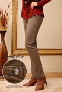 <b><font color=black>Triangular stitching pants</font></b> <br> -PN21203-