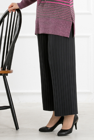 Pleated Tong Daily Pants-PN810042-