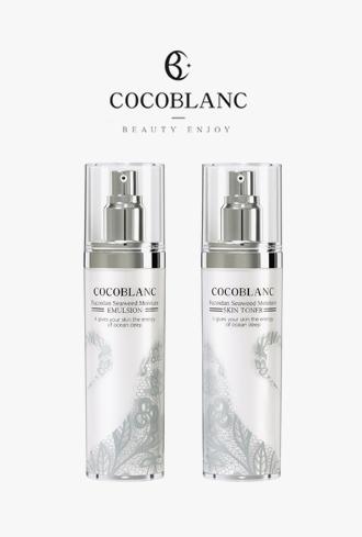 El Coco Blanc Fucoidan Seaweed Skin Set