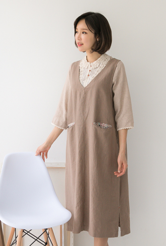 Pocket Dress -KC903005-