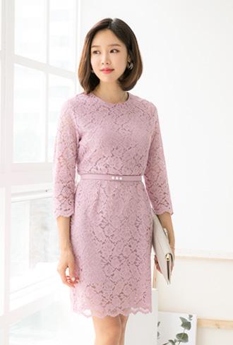 Lovely Lace Dress - OP905016-