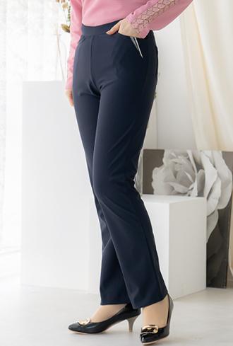 Double Color Date Pants-PN002078-