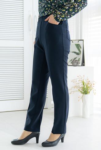 Cubic Line Pocket Pants-PN002077-