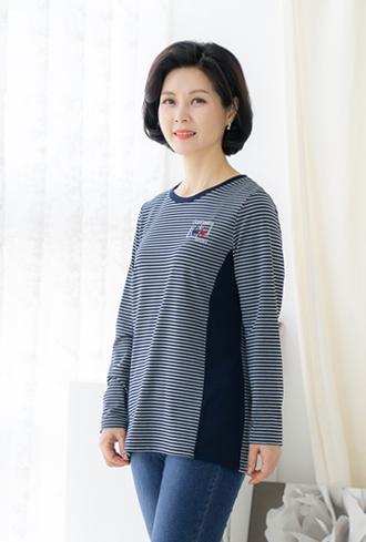Cubic point color T-shirt-te002101-